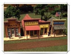 Betty Homan - N scale - town