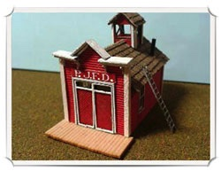Betty Homan - N scale - Fire House