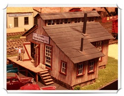 Harry Evans Franke Furniture - HO scale NMRA