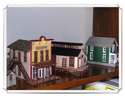 Jim Sulliavan Wild West Scale Models kits
