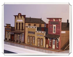 Sal LoMoglio kits-wild west models