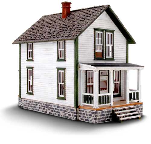 Pitkin House Products Wild West Scale Model Builders
