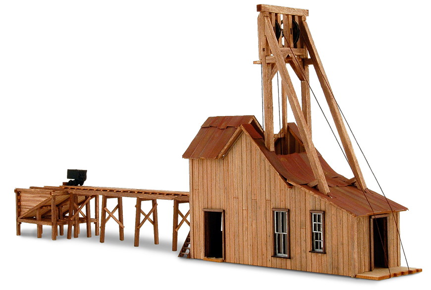 Atlantic Cable Mine Products Wild West Scale Model