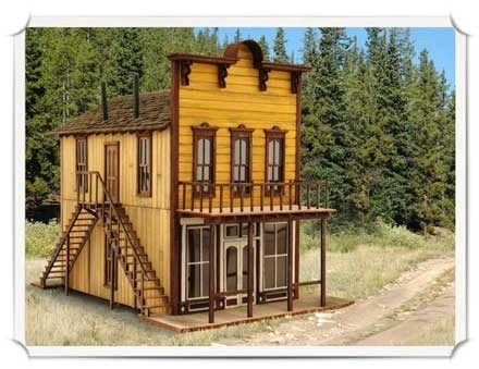 Don S Dry Goods Products Wild West Scale Model Builders