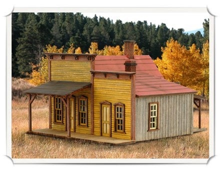 Miners Supply Products Wild West Scale Model Builders